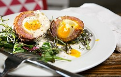 The Scotch egg at Chowhaus. - BERT JOHNSON/FILE PHOTO