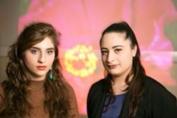 DJs Foozool (L) and 8ulentina. - FILE PHOTO/BERT JOHNSON