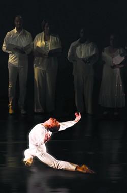 Oakland Ballet's Evan Flood. - RON LESSARD