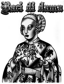 The artist's influences include Renaissance paintings. - CECILIA GRANATA