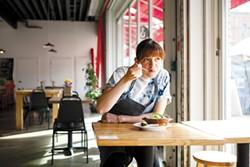 Dominica Rice-Cisneros at Cosecha, her restaurant at Swan's Market. - BERT JOHNSON/FILE PHOTO