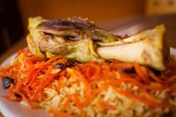 Quabili Pallow at Kamdesh Afghan Kabab House. - CHRIS DUFFEY/FILE PHOTO
