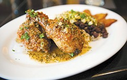 The pollo frito at Casa Cubana. - BERT JOHNSON/FILE PHOTO