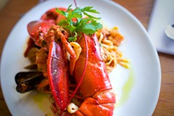 One of the many seafood offerings at Trattoria La Siciliana. - CHRIS DUFFEY/FILE PHOTO