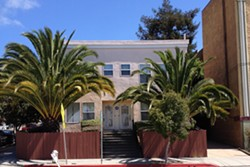 This Berkeley property lists all of its units available to rent on Airbnb, according to the Berkeley Tenants Union. Rentals of less than 14 days are currently illegal in Berkeley. - PHOTO COURTESY OF BERKELEY TENANTS UNION