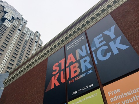 Stanley Kubrick: The Exhibition opened at the Contemporary Jewish Museum opened this week. - PHOTO BY NICK MILLER