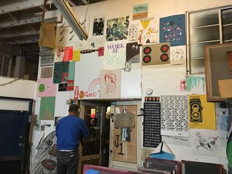 LoBot is home to a variety of interdisciplinary artist studios and a mixed-use venue. - NASTIA VOYNOVSKAYA