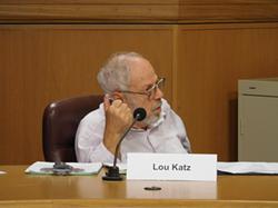 Commissioner Lou Katz.