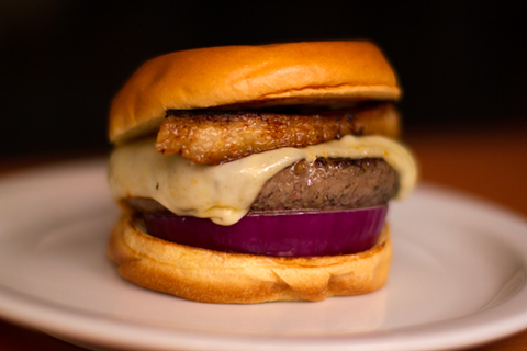 An Easy's burger, from the minds behind Eggslut. Look for the pop-up at FYF.
