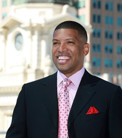 Mayor Kevin Johnson of Sacramento.