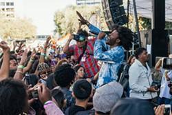 Singer Jesse Boykins III at Oakland Music Festival in 2014. - AMIR AZIZ