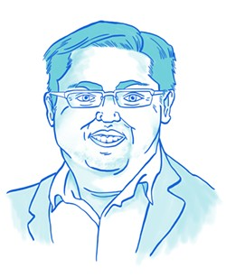 Jesse Arreguin for Berkeley mayor. - ILLUSTRATION BY ROXANNE PASIBE