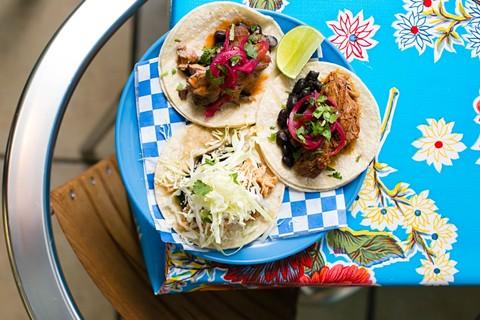 Tacos at Aztecali. - BERT JOHNSON/FILE