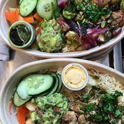 Mexican bowls, en route to Oakland. - CHICA SF (VIA FACEBOOK)