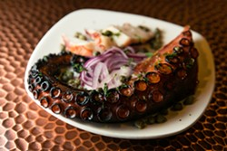 The octopus at Pathos. - STEPHEN LOEWINSOHN/FILE
