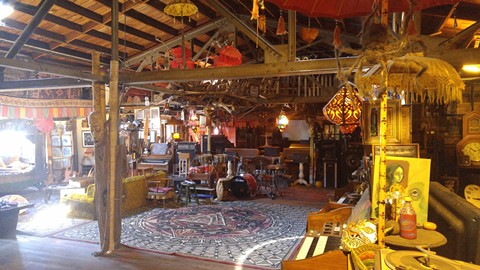 Inside the Ghost Ship Venue, site of last night's fire in Oakland's Fruitvale district - COURTESY GHOST SHIP'S WEBSITE