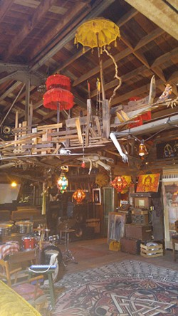 Inside Ghost Ship - COURTESY GHOST SHIP'S WEBSITE