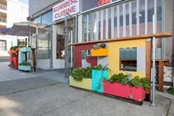 The exterior of the East Oakland restaurant. - BERT JOHNSON/FILE PHOTO