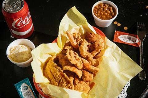 Fried catfish and shrimp at Mississippi Catfish. - ANDRIA LO/FILE PHOTO