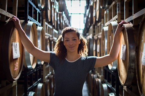 Jessica Moncada wants her bottle shop to be a resource for Bay Area bartenders. - NEIL ROCHE