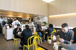 Drip Line provides the necessities: coffee, WiFi, a good burger — and surprises - ANDRIA LO