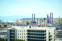 Chevron's Richmond refinery.