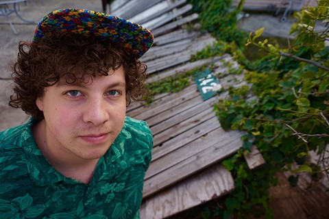 Derek Barber, a.k.a. Perhapsy, says it's a great time to play gigs in the Bay. - MADELINE KENNEY