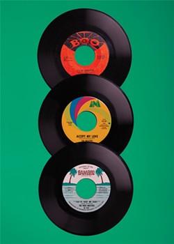 A few of Matt Stout's records. - SAM ZIDE