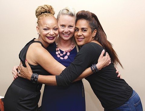 Sakai Smith, Kerry Fiero, and Renee Moncada attend the 2016 conference. - PHOTO BY NIKO ELLISON