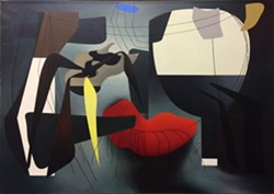 Charles Howard Prescience, 1942; oil on canvas. - IMAGE COURTESY OF ART RESOURCE, NEW YORK