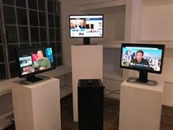 Tiare Ribeaux and Elle Aviv Newton's Toward a 2020 Internet Armistice. - COURTESY OF B4BEL4B