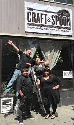 Craft & Spoon owners Michael Schlieke, Aima Paule, Charleen Caabay, and Christine De La Rosa. - COURTESY OF CRAFT & SPOON