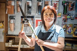 Upgrade your tool game with Mizuho Minamizaki at Hida Tools and Hardware Co. - PHOTO BY ROSA FURNEAUX