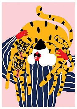 Egle Zvirblyte's 'Girl, Tiger, Tiger'. - COURTESY OF GOOD MOTHER GALLERY