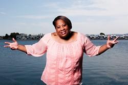 Pam the Funkstress: Readers' Poll Winner, Best Deejay - PORTRAIT BY SAM ZIDE