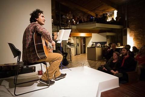 "Oakland musician Dave Deporis. - PHOTO COURTESY OF ""IN MEMORY OF DAVE DEPORIS"" ON FACEBOOK"