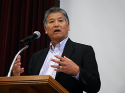 Rev. Michael Yoshii of the Buena Vista United Methodist Church of Alameda.