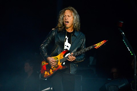 Kirk Hammett of Metallica - PHOTO BY BRIAN BRENEMAN