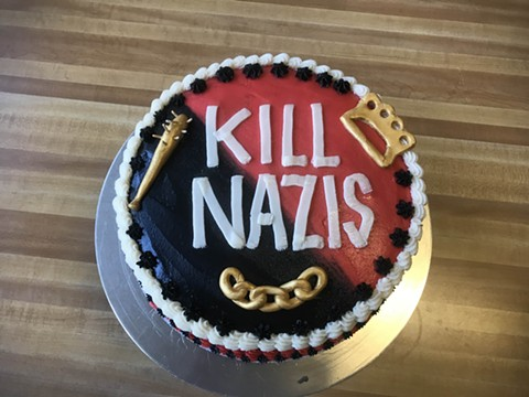 This cake caused quite the stir. - COURTESY OF ASHLEY SHOTWELL