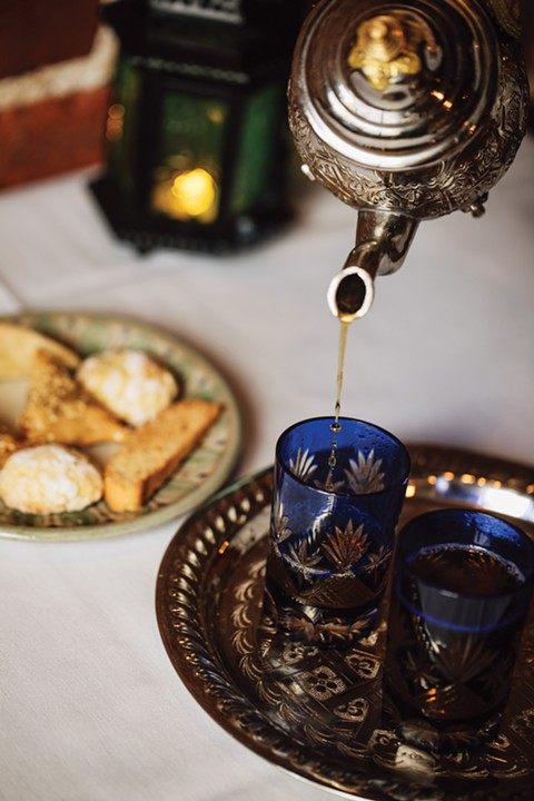 A glass of mint tea is an ideal way to end your meal. - PHOTO BY ANDRIA LO
