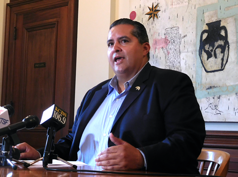 Councilmember Abel Guillen said two-thirds about two-thirds of the residents in Oakland's Chinatown and San Antonio neighborhoods he has spoken to about the Laney ballpark proposal prefer that it be built somewhere else.