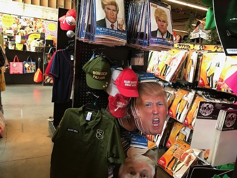 Display at the Spirit store in Emeryville at Bay Street