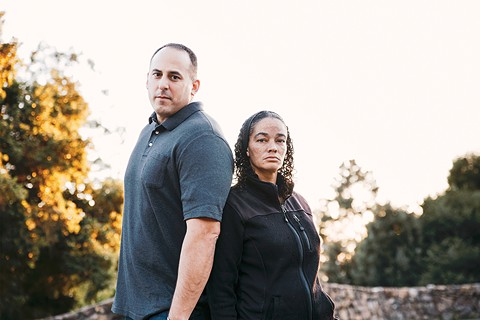 Jonathan Bellusa and Lori Davis became a most unlikely team. - PHOTO BY KALA MINKO
