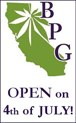 BPG is OPEN 4th of July! Free Gram for First 100 Patients!