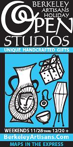 Berkeley Artisans Holiday Open Studios!