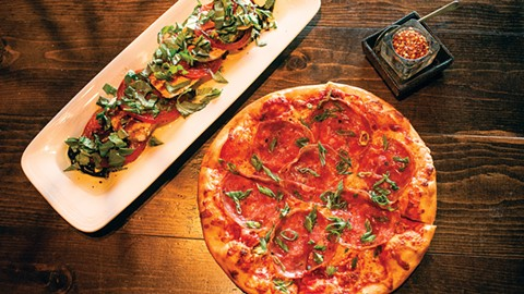 Spinning Dough Tosses  Thin-Crust Pizza Without Labels