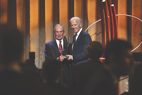 OK, Boomers: Biden, Bloomberg Bumble over Pot Policy