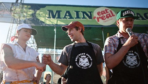 This Year's Eat Real Festival Features an Anti-Sausage Party