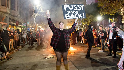 Protest Trump's Inauguration in Oakland, But Please Don't Be Violent