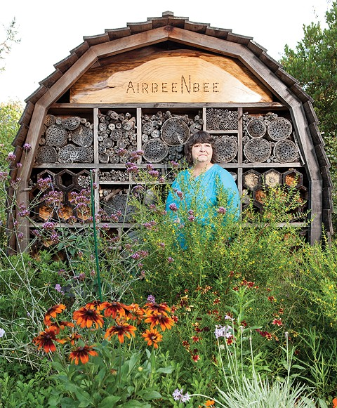 Best Garden Whiz and Butterfly Savior: Victoria 'Tora' Rocha